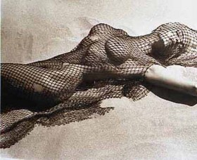 Brigitte Nielsen by Herb Ritts