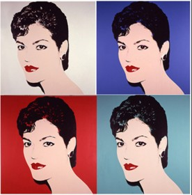 Dalia by Andy Warhol